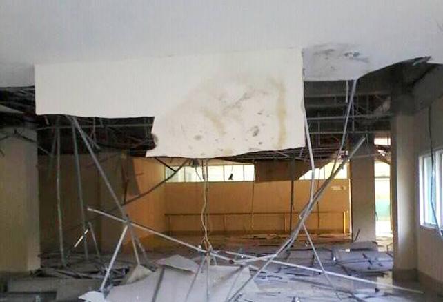Sejumlah Plafon RSUD Asy-Syifa' Terancam Ambruk