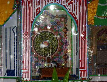 Ayat Suci Al-Qur'an Mengalun Merdu di Desa Lampok