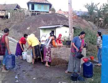2 Kecamatan di KSB Dilanda Krisis Air Bersih