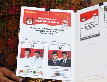 Jokowi dan Prabowo Berebut Suara Pemilih KSB