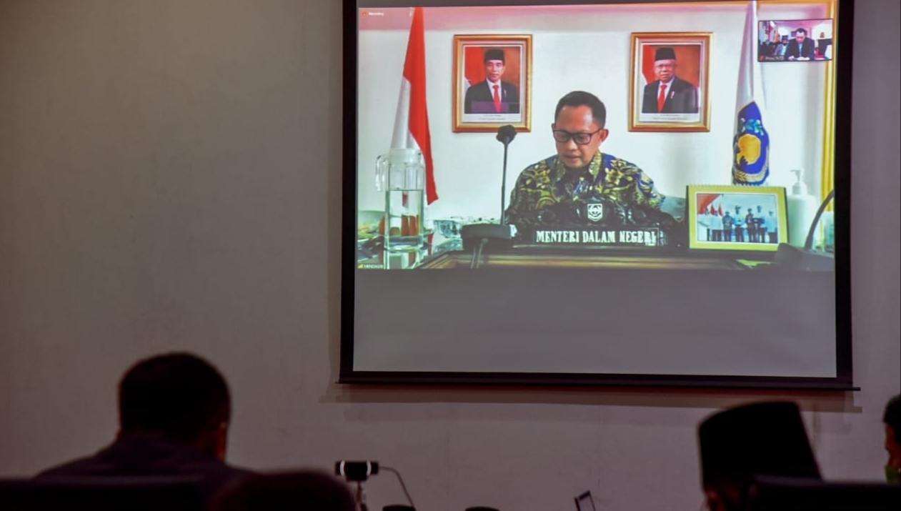 Gubernur saat Rakor bahas Realokasi APBD 2020