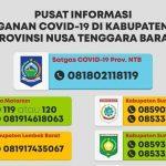 Pusat Informasi Penanganan Covid-19 di NTB